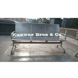 Stainless Steel Parking Bench