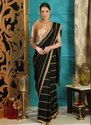 Sequins Work Party Wear Georgette Sarees