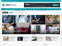 News Portal Development Service, With Chat Support