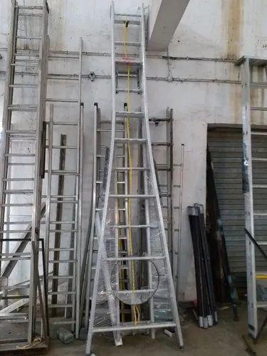 Aluminium Ladders - Aluminium Wall Mounted Ladders Manufacturer from