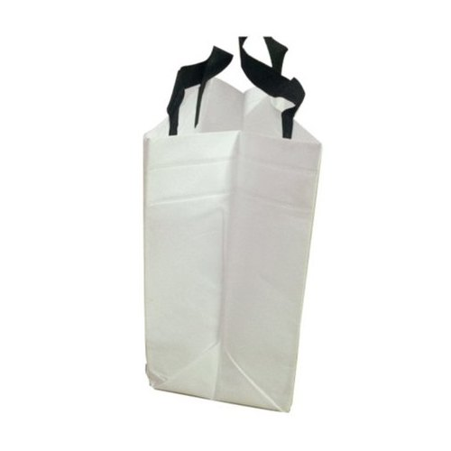 White Loop Handle Non Woven Box Bag