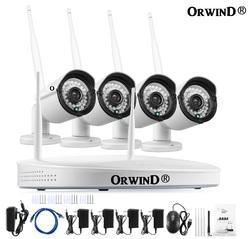Wireless WiFi NVR CCTV Camera Kit