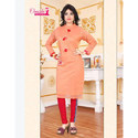 Ladies Cotton Party Wear Slim Fit Suit