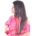 Red Fashionable Streaks Hair Extension