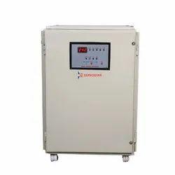 Single Phase Semi-Automatic Servostar Stabilizer, 180 V - 280 Vb, 50 kVA
