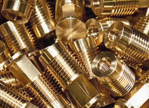 Brass CNC Turning Component, For Industrial