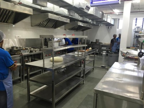 Stainless Steel Silver COMMERCIAL KITCHEN EQUIPMENTS