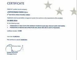 SA 8000 From Eurocert SA