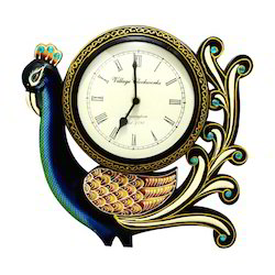 Traditional Work With Wooden Analog Wall Clock