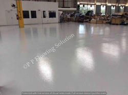 Matte Finish Epoxy Flooring