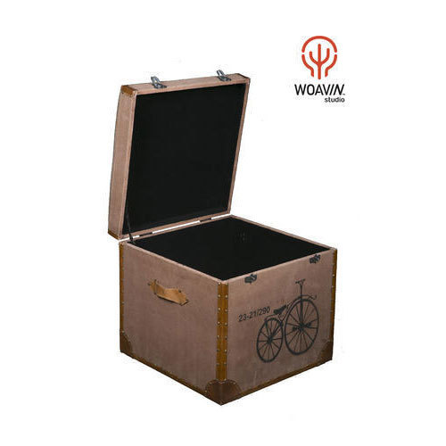 Woavin Industrial, Commercial, Living Room  Square Wooden Small Tool, Jewellery Box