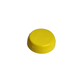 Yellow Bottle Container Cap