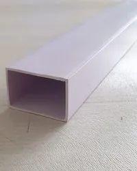 12 FEET SB PVC PVC Square Pipe, Thickness: 1.4 MM