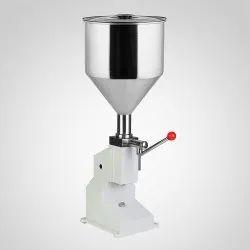 Manual Paste Filler Machine, Capacity: 10 ml to 100ml