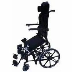 Motorized Stand Up Wheelchair with Manual Propelling