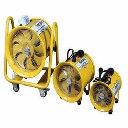 Electric And Pneumatic Ventilation Fan