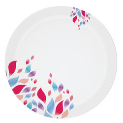 Melamine Sporty Plate Blue And Pink