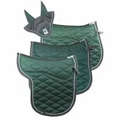 Memory Foam Green Horse Saddle