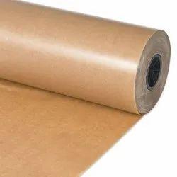 Wood Pulp Brown Poly Coated Kraft Paper, Packaging Type: Roll, 280 Gsm