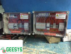 Solar Array Junction Box 6 In 1 Out
