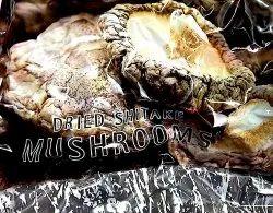 A Grade Freshos Dried Shitake Mushroom 1 kg, Plastic Bag