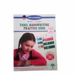 Tamil Handwriting Practice Book