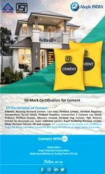 ISI Mark Certification for Cement