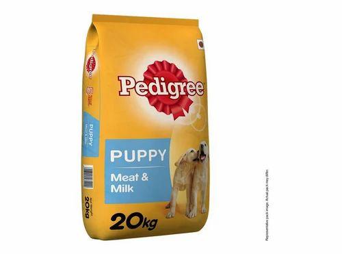 Pedigree Puppy Dog Food Meat Milk At Rs 3000 Pack Pedigree Dog