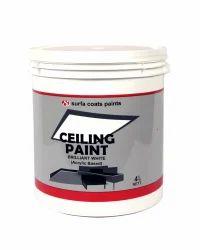 Brilliant White Acrylic Ceiling Paint