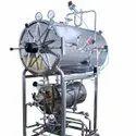 Horizontal High Pressure Cylindrical Steam Sterilizer