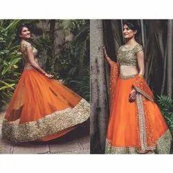 Pransul Fashion Festival Net Fabric Women Wear Latest Look Lehengha Choli