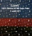 Cotton Satin Print (Lizol)