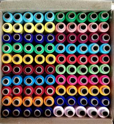 Sewing Stitching Polyester Thread and Reel Sewing Polyester Thread
