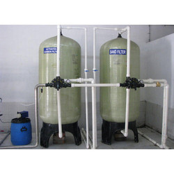 Sand and Active Filter Carbon Filter