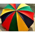Multicolor Garden Umbrella