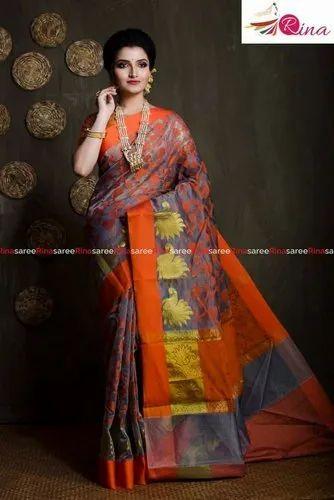 Meena Jamdani Saree