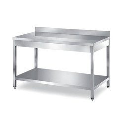 Stainless Steel Under Splash Table