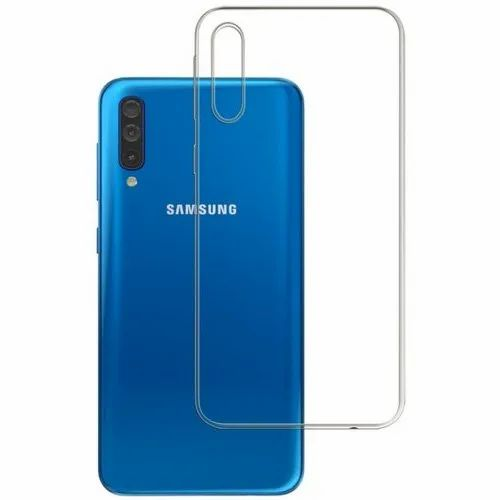 Silicone Samsung Transparent Mobile Back Cover, Box Contain: 10 Pieces