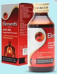 Elements Cof Nil Cough Relief Formula 100 ml