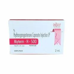 Hydroxyprogesterone Injection ( Myterm -H 500 ) Inj