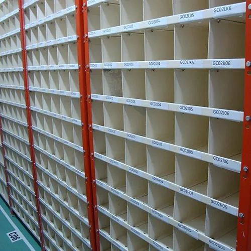 MS Slotted Angle Partitions Racks