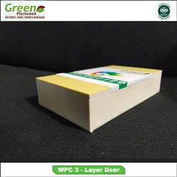 Plain PVC Three Layer WPC Solid Sheet, For Furniture, Thickness: 5 mm To 18 mm