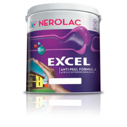 Nerolac Excel Acrylic Exterior Emulsion Paint, Packaging Type: Bucket