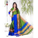 Soft Silk Party Wear Saree With Blouse Piece, Length: 6 M