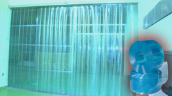 PVC Freezer Curtain