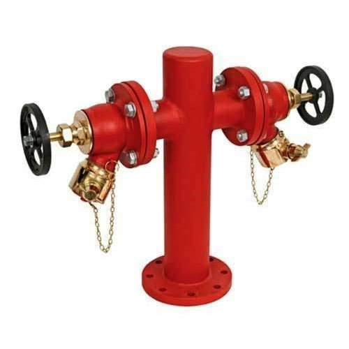 double headed fire hydrant valve at rs 7200 piece id 15997711248