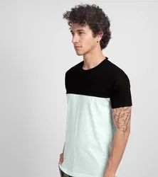 Half Sleeves Male Cotton Lycra T Shirts, Age Group: 15-55, Quantity Per Pack: 100 Pc