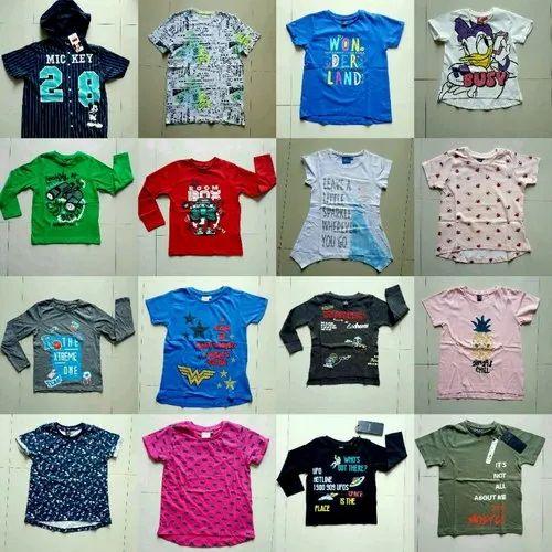 Export Surplus Kids Garment