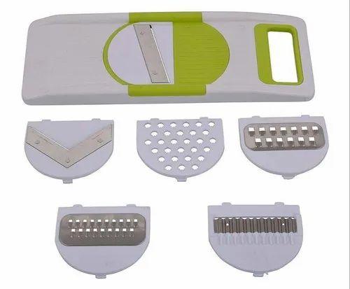 Plastic your brand Famous Slicer 6 In 1, Model Name/Number: 141_slicer_6 In 1, for Household