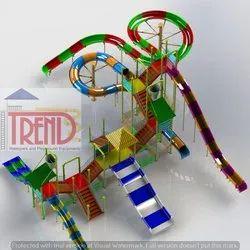 6 Platform Multi Play System